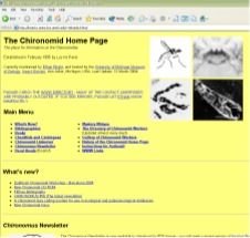 Original Chironomid Home Page Format